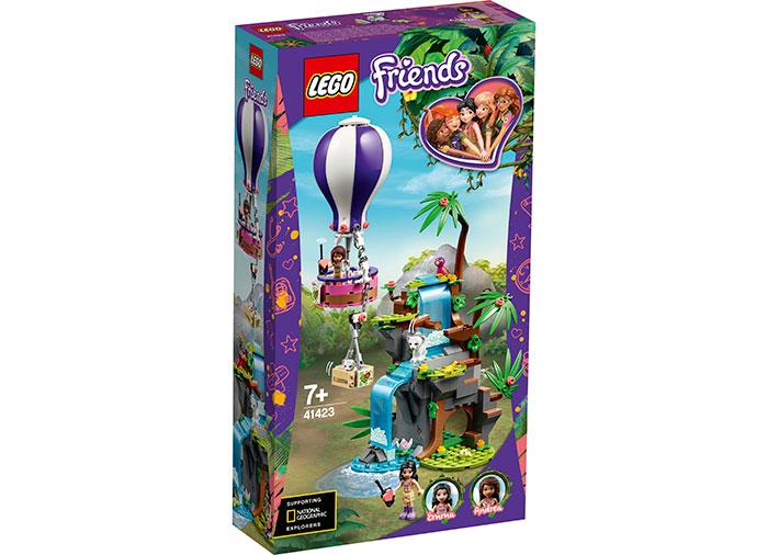 Salvarea tigrului cu balonul lego friends