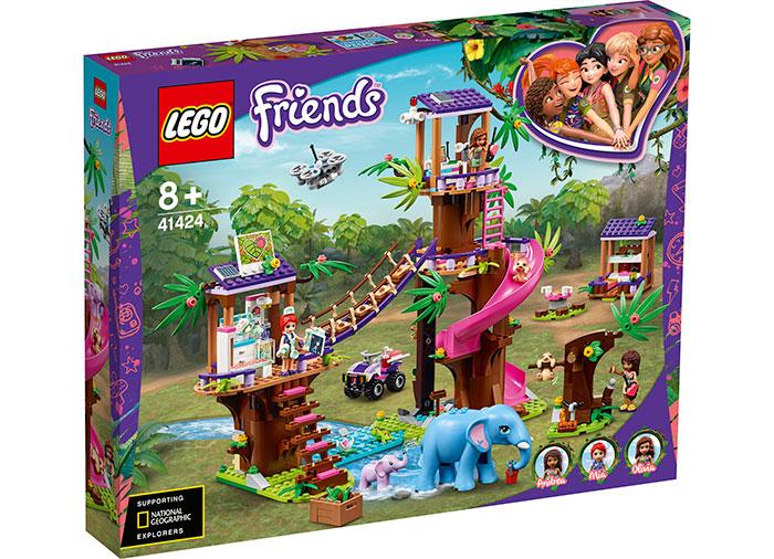 Baza de salvare din jungla lego friends