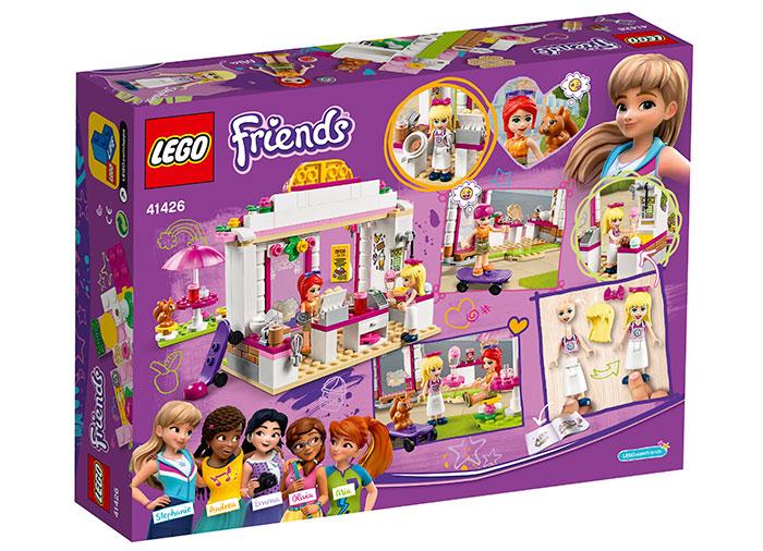 Cafeneaua parcului heartlake lego friends - 1
