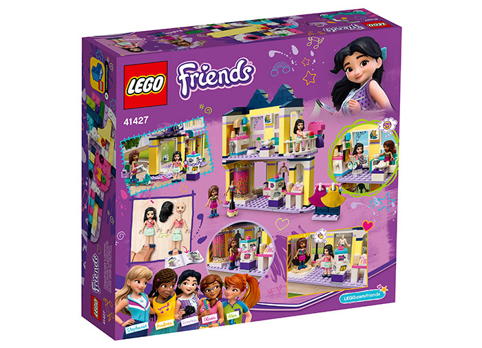 Casa de moda a emmei lego friends - 1