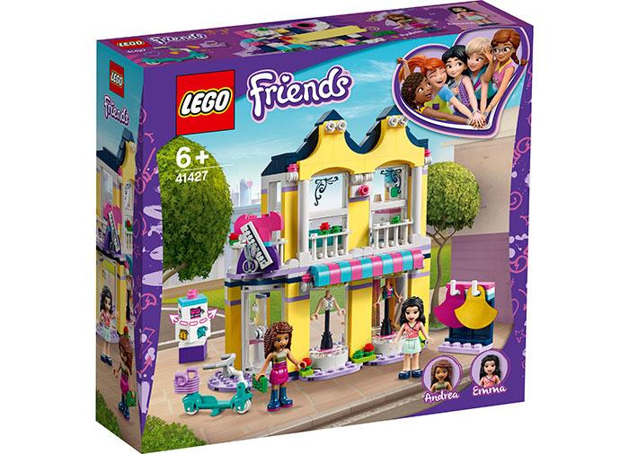 Casa de moda a emmei lego friends