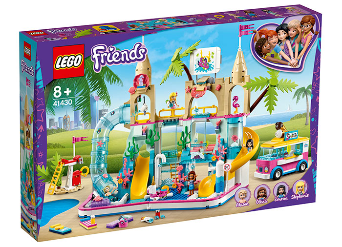 Parc acvatic distractiv lego friends