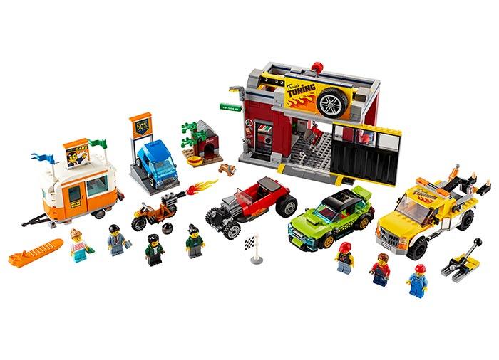 Atelier de tuning lego city - 1