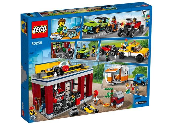 Atelier de tuning lego city - 2