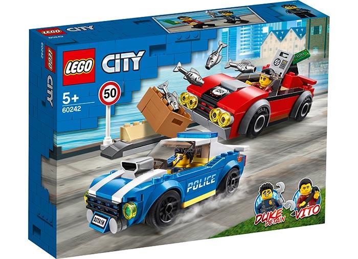 Arest pe autostrada lego city