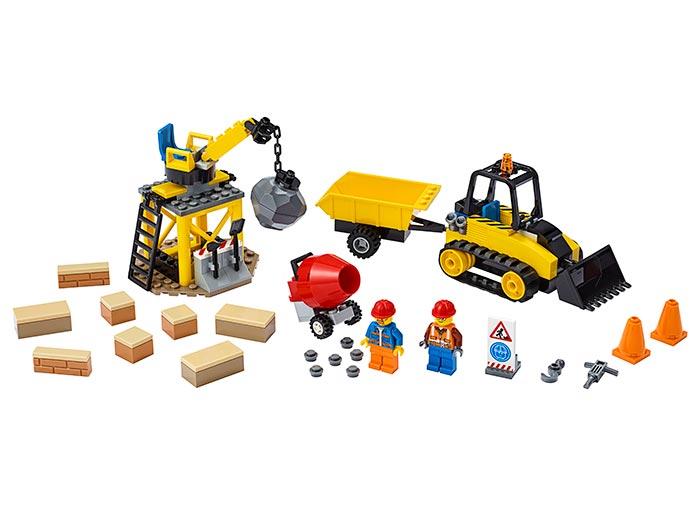 Buldozer pentru constructii lego city - 2