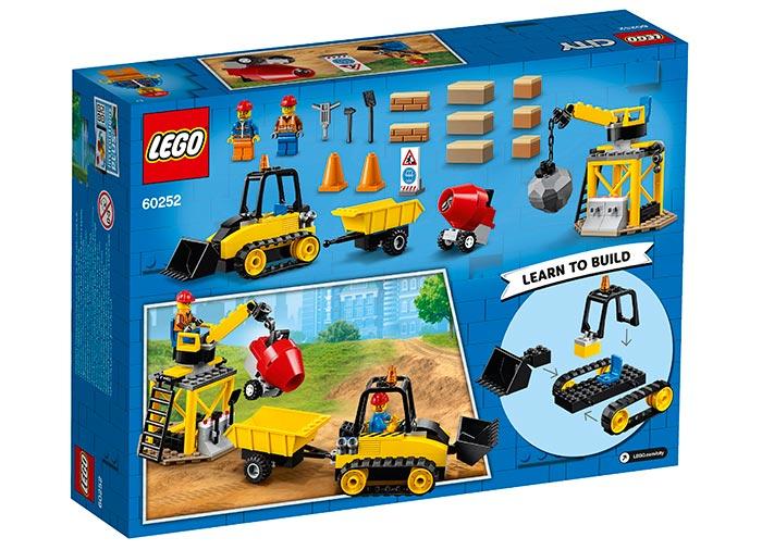 Buldozer pentru constructii lego city - 1