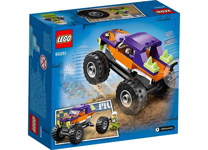 Camion gigant mov lego city - 2