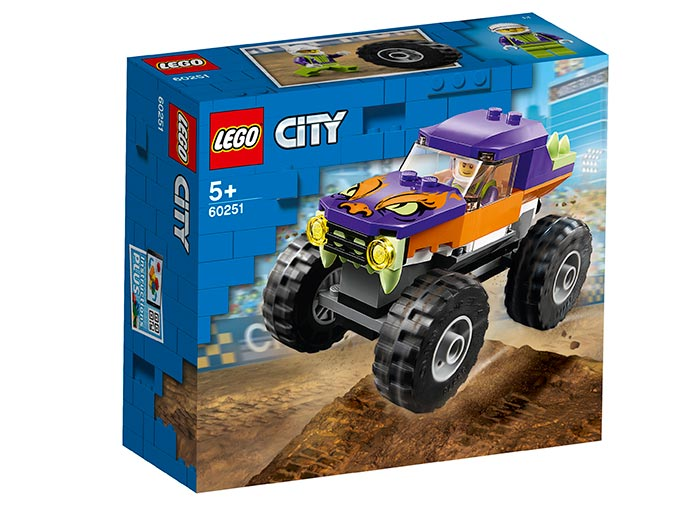 Camion gigant mov lego city