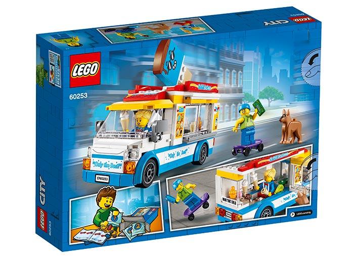 Furgoneta cu inghetata lego city - 2