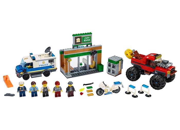 Furtul cu monster truck lego city - 2