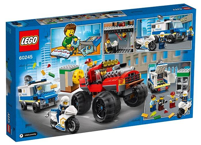 Furtul cu monster truck lego city - 1
