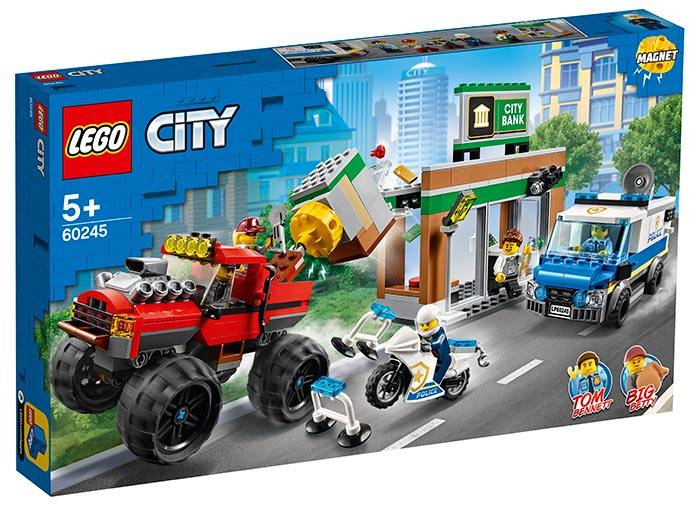 Furtul cu monster truck lego city