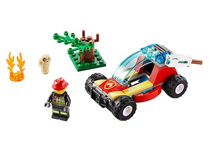 Incendiu in padure lego city - 1
