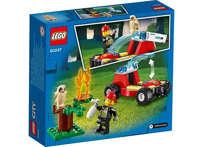 Incendiu in padure lego city - 2