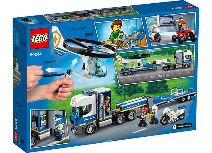 Transportul elicopterului de politie lego city - 2