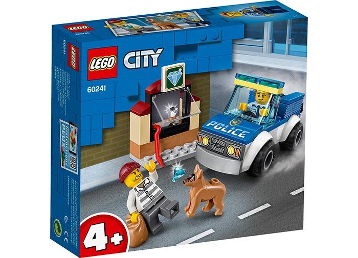 Unitate de politie canina lego city