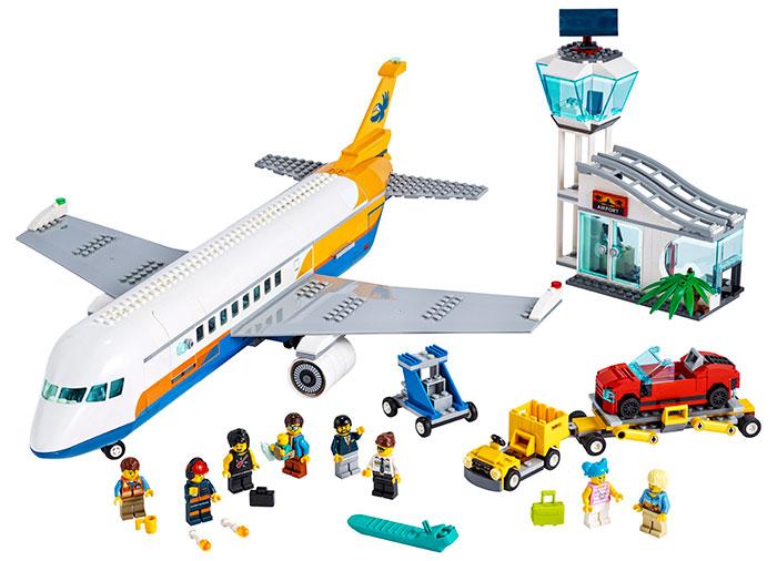 Avion de pasageri lego city - 1