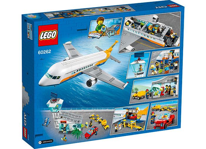 Avion de pasageri lego city - 2