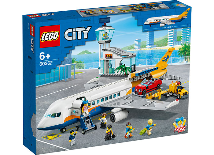 Avion de pasageri lego city