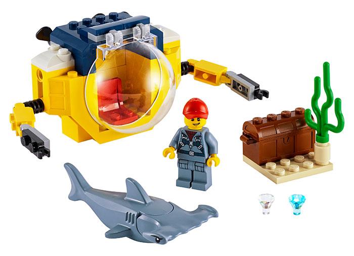Minisubmarin oceanic lego city - 2