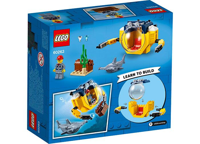 Minisubmarin oceanic lego city - 1
