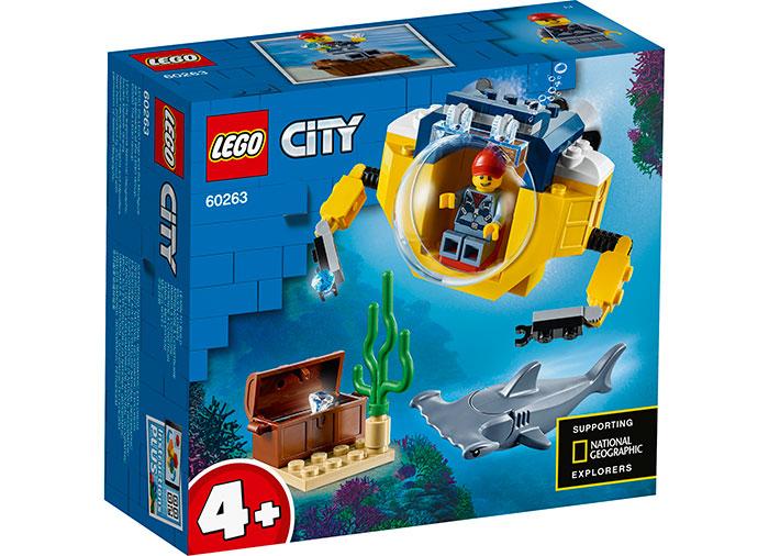 Minisubmarin oceanic lego city