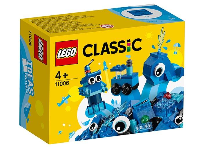 Caramizi creative albastre lego classic