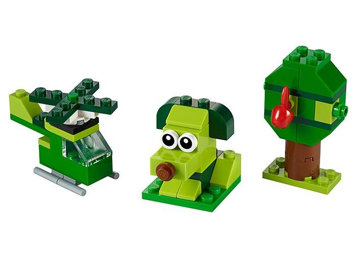 Caramizi creative verzi lego classic - 1