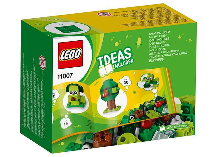 Caramizi creative verzi lego classic - 2