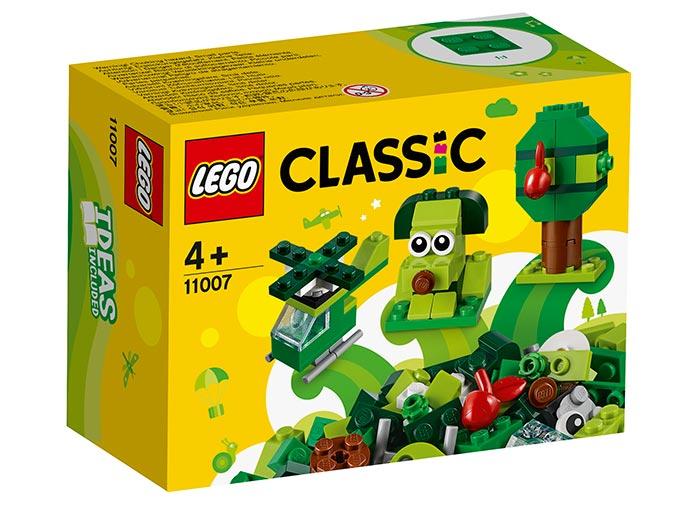 Caramizi creative verzi lego classic