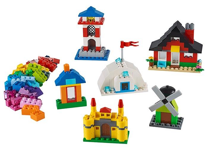 Caramizi si case lego classic - 1