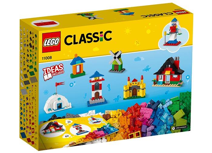 Caramizi si case lego classic - 2
