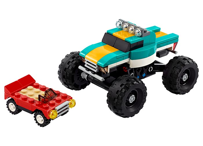 Camion gigant lego creator - 2