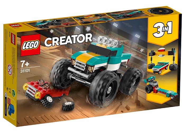 Camion gigant lego creator