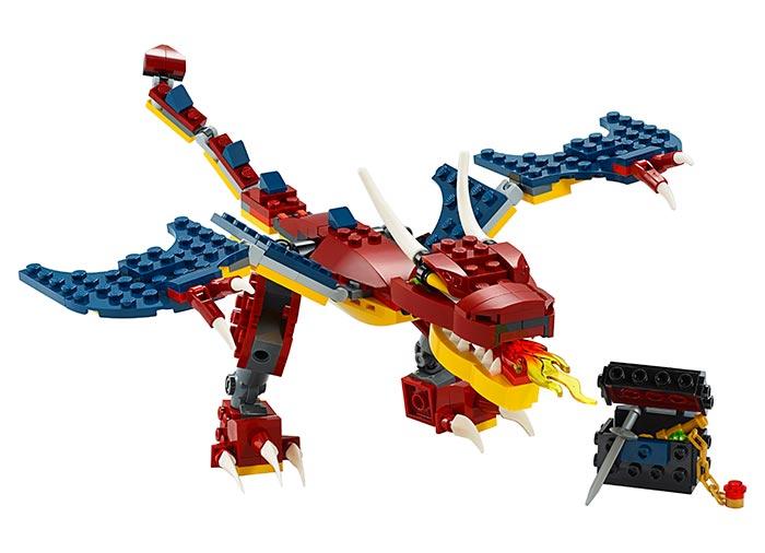 Dragon de foc lego creator - 1