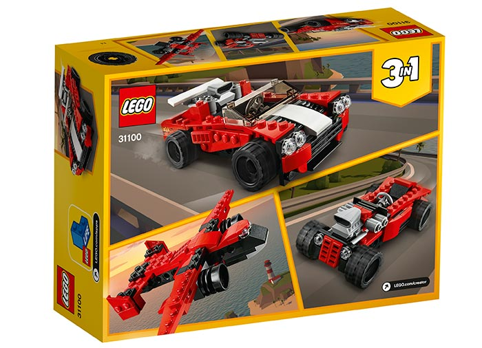 Masina sport lego creator - 2