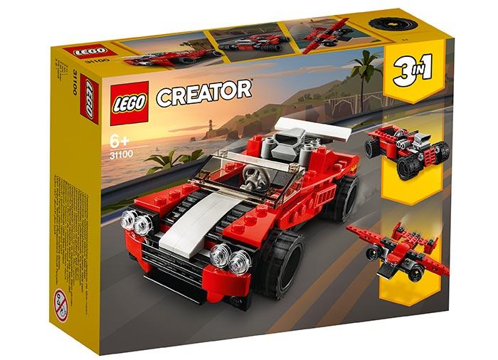 Masina sport lego creator