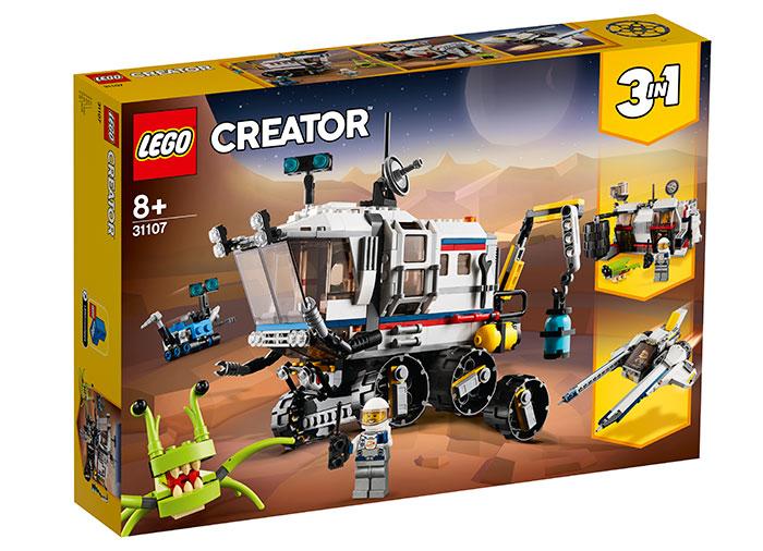 Rover spatial lego creator