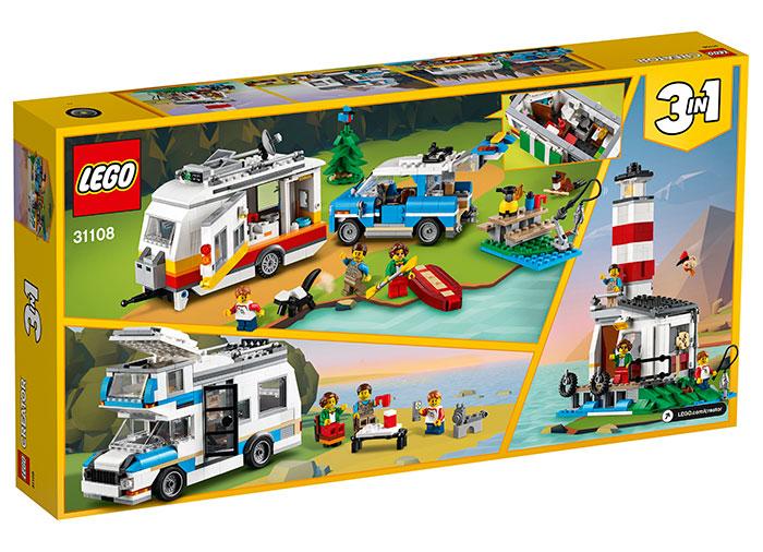 Vacanta in familie cu rulota lego creator - 1