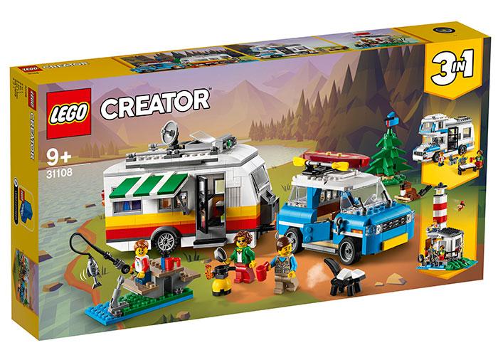 Vacanta in familie cu rulota lego creator