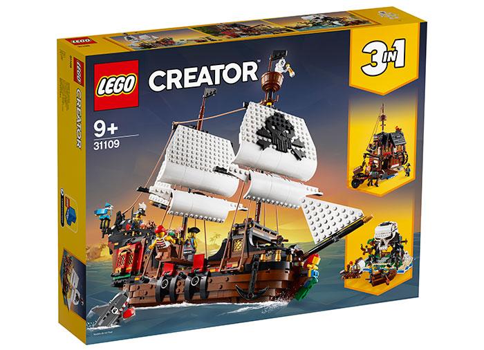 Corabie de pirati lego creator