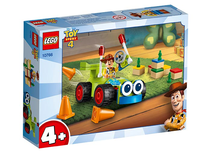 Woody si rc lego toy story 4