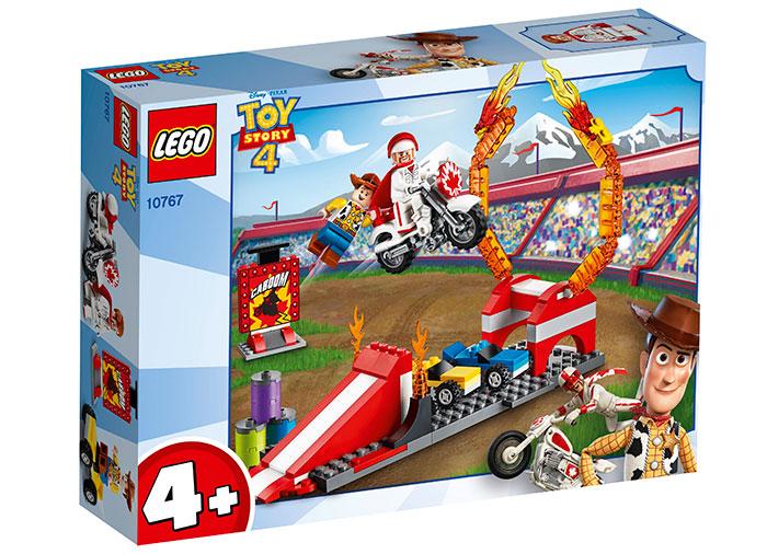 Cascadorii ducelui kaboom lego toy story 4