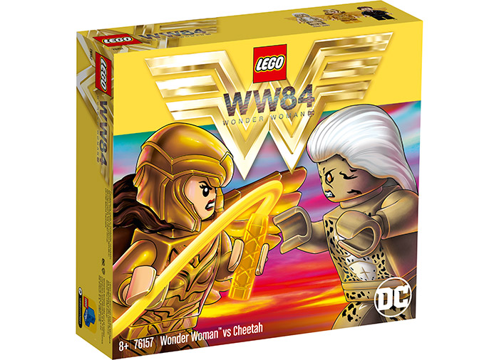 Wonder woman vs cheetah lego dc super heroes