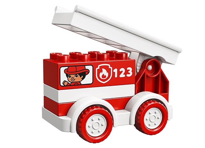 Camionul de pompieri lego duplo - 2