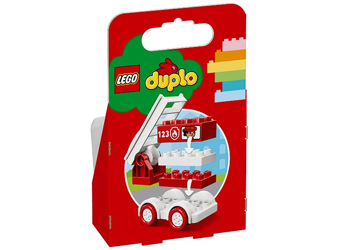 Camionul de pompieri lego duplo - 1