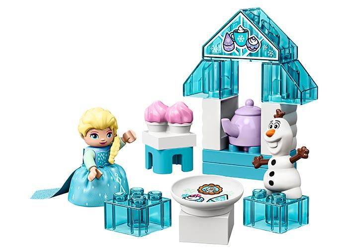Elsa si olaf la petrecere lego duplo - 2