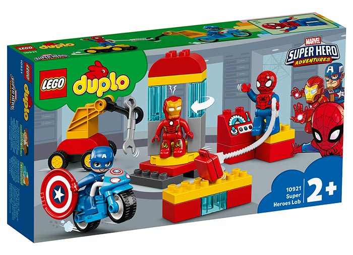 Laboratorul super eroilor lego duplo