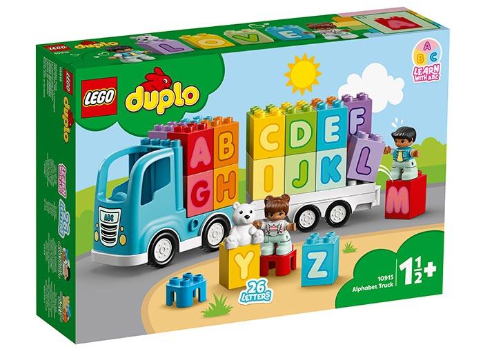 Primul meu camion cu litere lego duplo